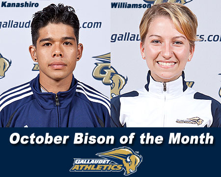 Jean-Pierre Kanashiro, Shadoe Williamson named October Bison of the Month