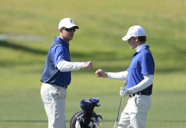 Men's Golf Signs Two for 2014-15