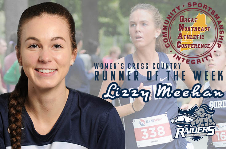 Women's Cross Country: Lizzy Meehan named GNAC Runner of the Week