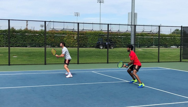 Men's Tennis Takes 3 of 4 Doubles vs. UTD