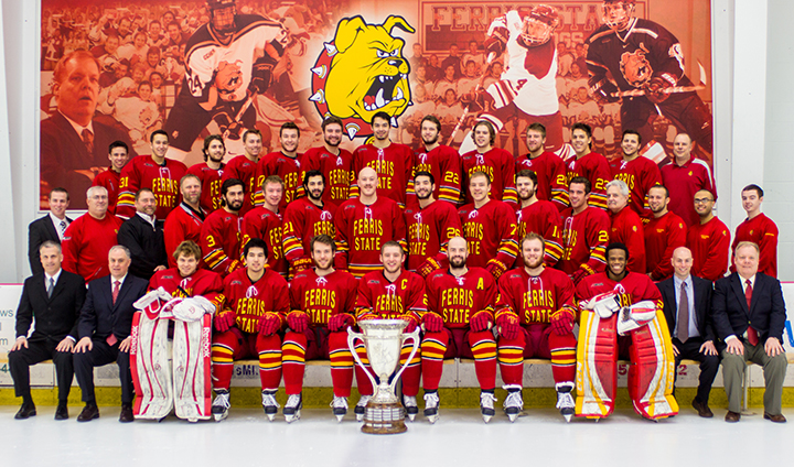 SEASON REVIEW: Ferris State Hockey Caps Off Memorable Season Ranked Sixth In Final Polls