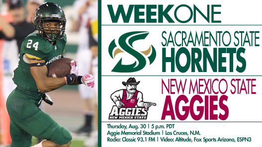 Football Opens Season on Thursday at New Mexico State