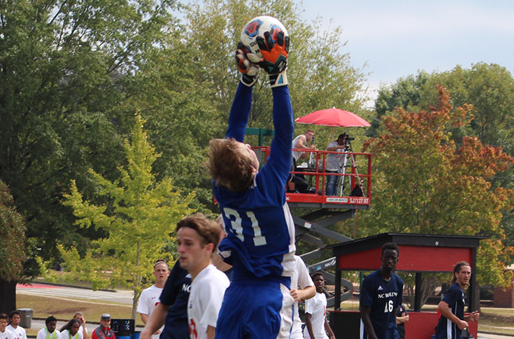 Men's Soccer: Panthers fall to conference-leading N.C. Wesleyan on Senior Day