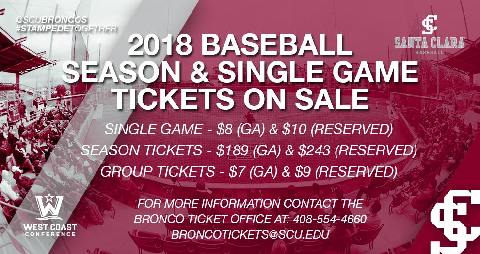 Baseball Tickets On Sale Now