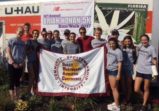 CROSS COUNTRY VOLUNTEERS AT 14TH ANNUAL HONAN 5K