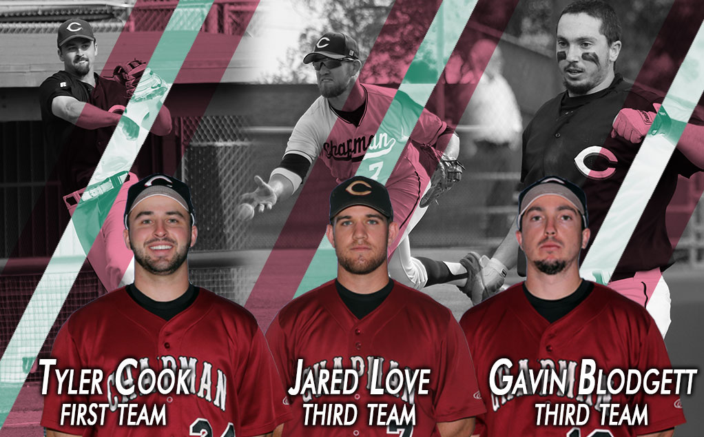 Cook's First Team nod headlines three All-Region selections