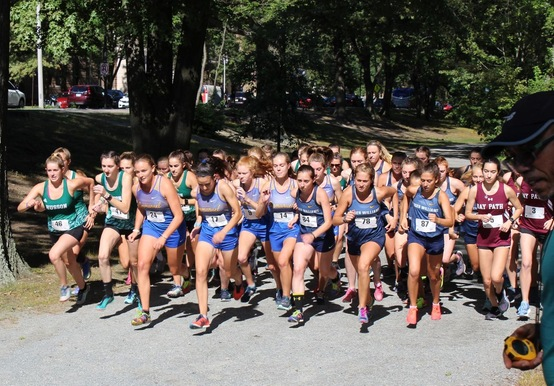 Saints Sprint at Suffolk University Invitational