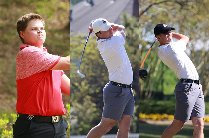 Golf: Panthers place three on USA South All-Conference teams