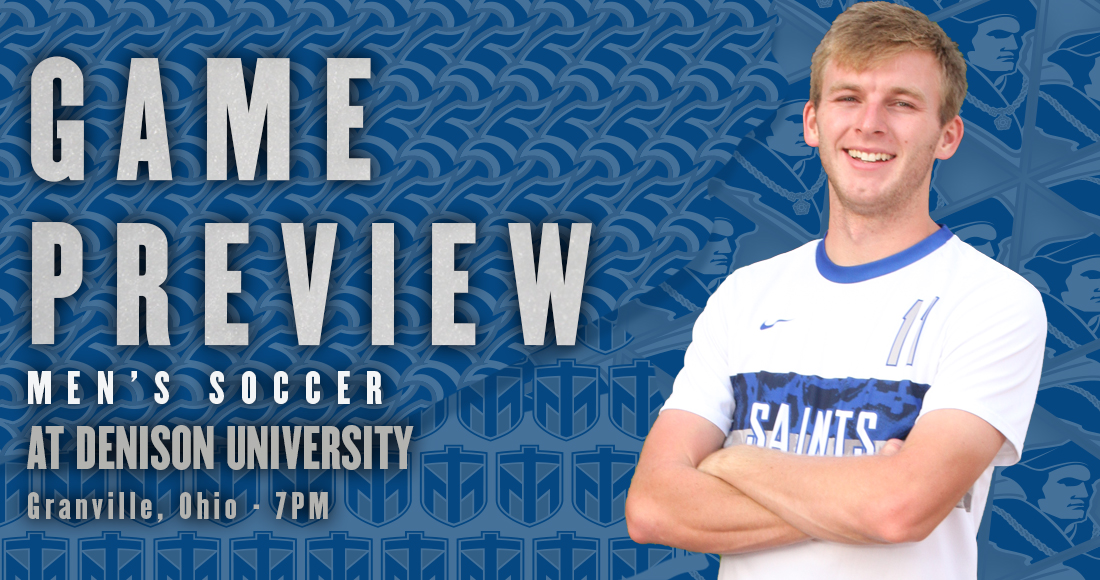 Men's Soccer Travels to Denison Wednesday