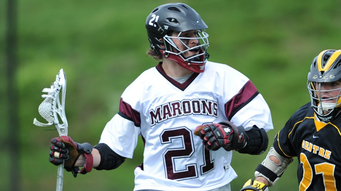 Seventh-Ranked Maroons Roll in NCAA First Round Game