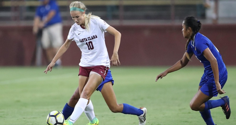 Offense Comes Alive in Women's Soccer's Victory Over LMU