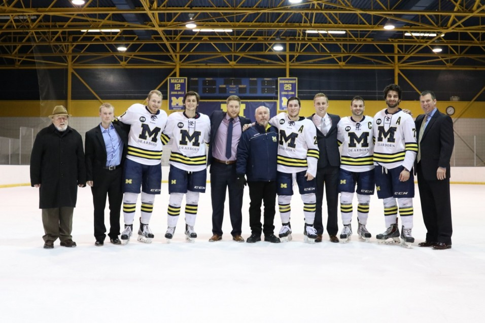 Photo for Bechard Scores Two in Senior Night Win