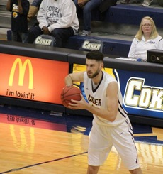 Nathan Lemke, Coker Men's Basketball