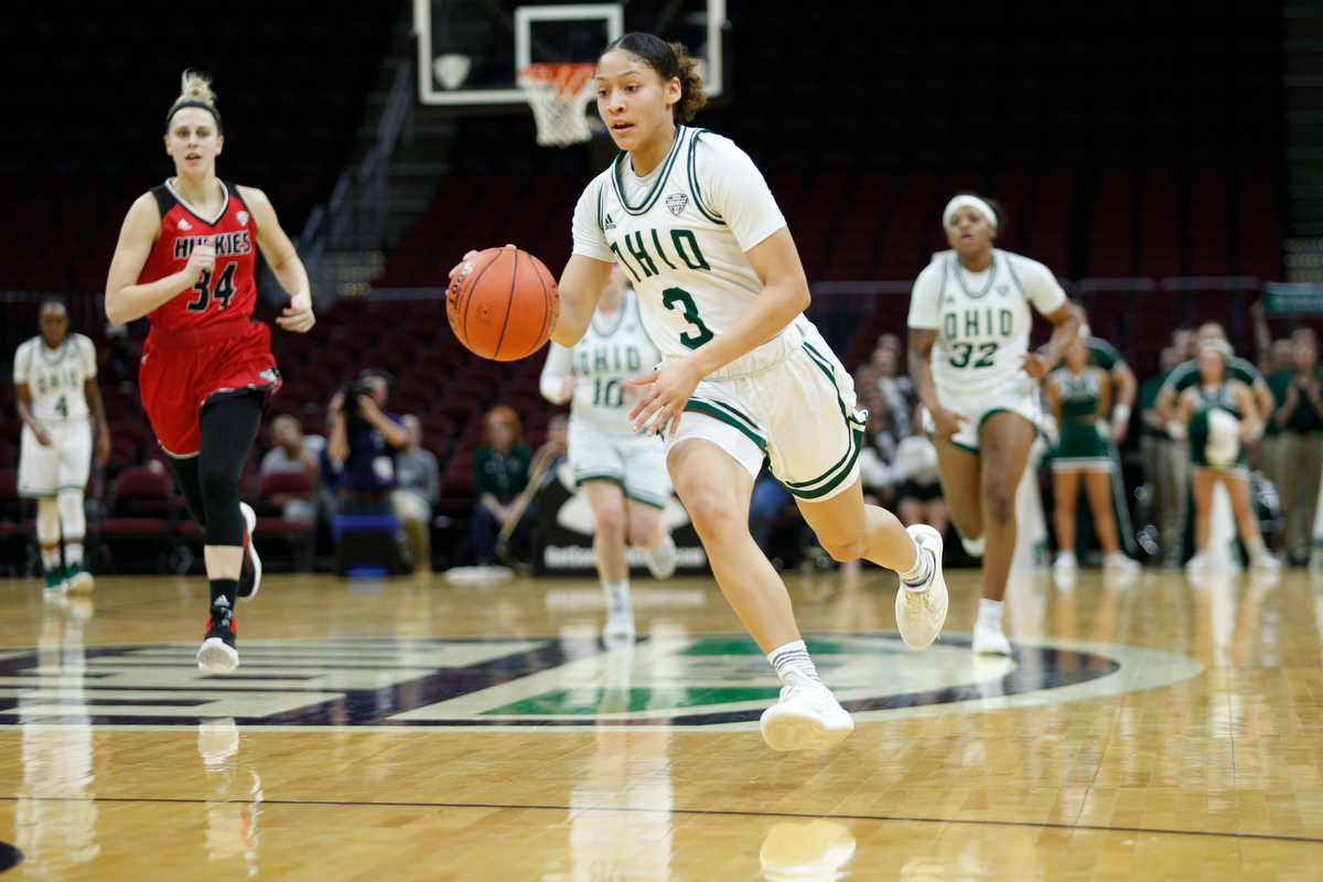 No. 2 Ohio Women's Basketball Faces No. 3 Miami in MAC Semifinals on Friday