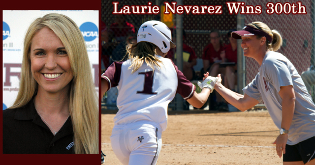 Head Coach Laurie Nevarez Captures 300th Career Victory as Bulldog Softball Notches Doubleheader Sweep over Williams