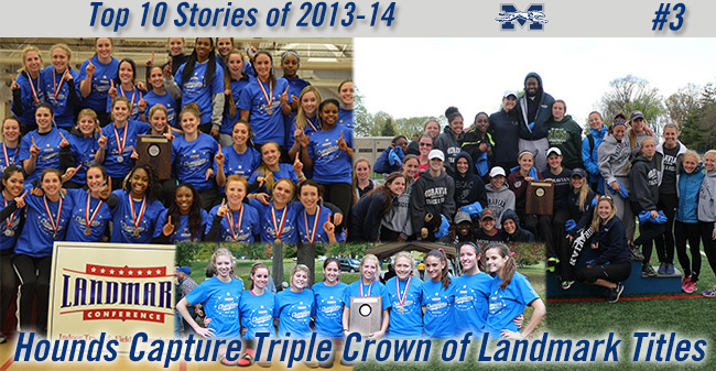 Top 10 Stories of 2013-14 - #3 Hounds Claim Three Landmark Titles in Cross Country and Track & Field