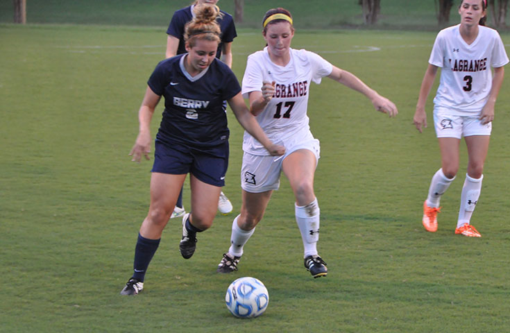 Women's Soccer: Berry spoils Panthers' home opener