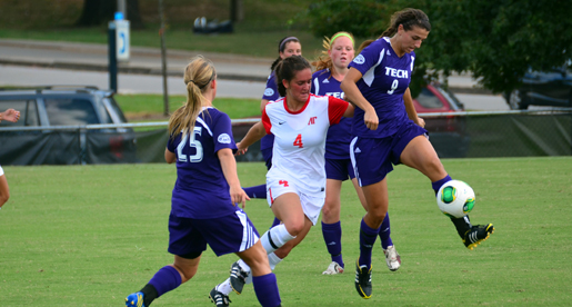 Tech soccer runs up against strong Austin Peay attack in 5-0 home loss