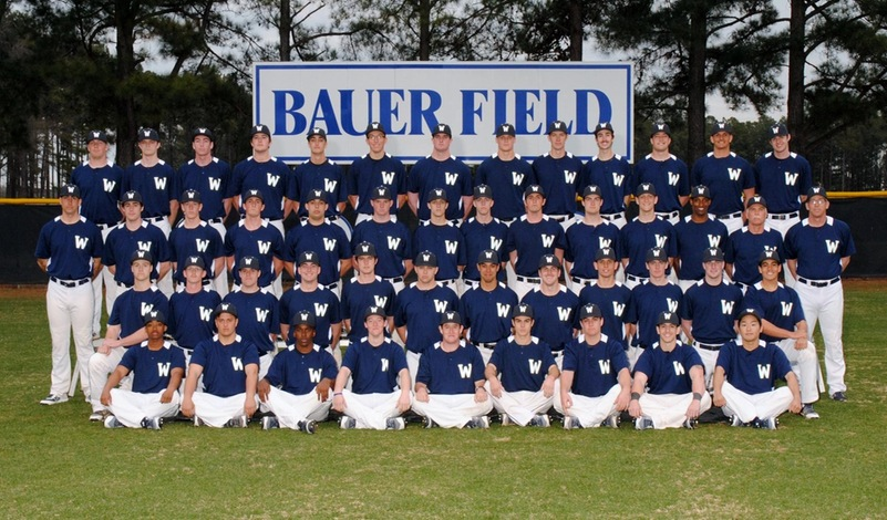 2018 N.C. Wesleyan Baseball Team
