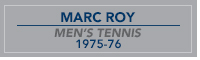 Roy nameplate