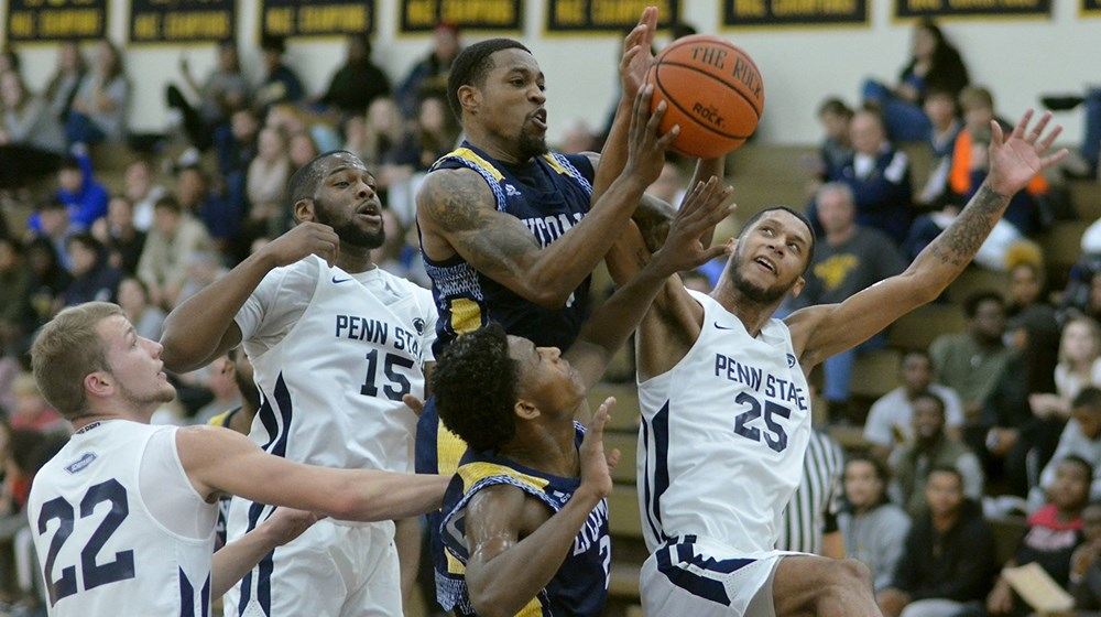 Schuylkill upset bid comes up short as Lycoming secures win late, 99-86.