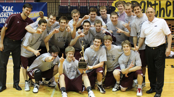 Trinity Wins Sixth SCAC Men's Basketball Championship