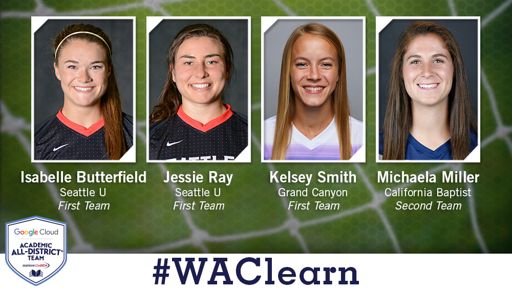 Four Women's Soccer Players Named Academic All-District