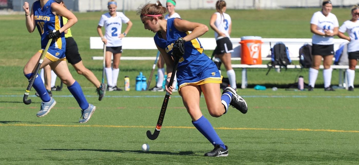 Field Hockey Drops Double-Overtime Thriller to Third-Seed Simmons in GNAC Quarterfinals
