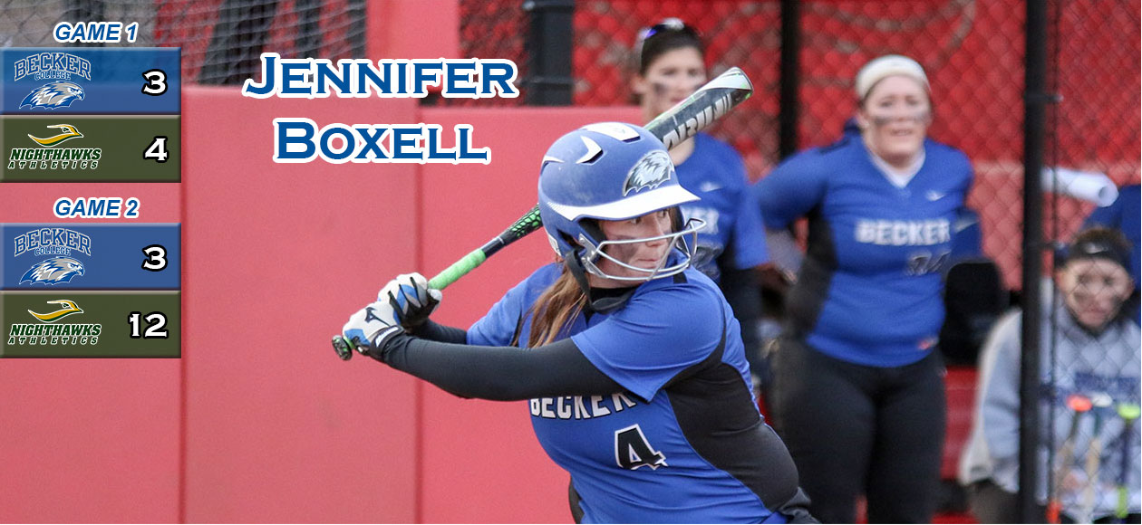 Nighthawks take two from Softball in NECC double-header