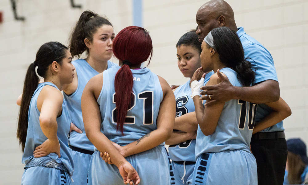 Women's basketball humbled in loss to Humber