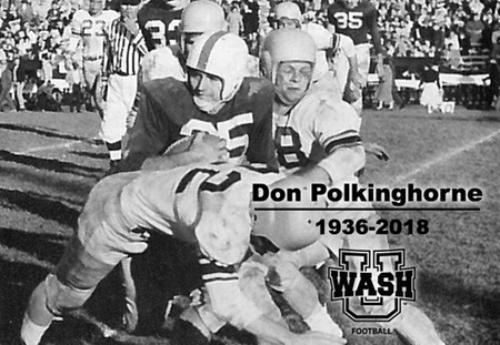 Washington University Mourns Loss of Hall of Famer Don Polkinghorne
