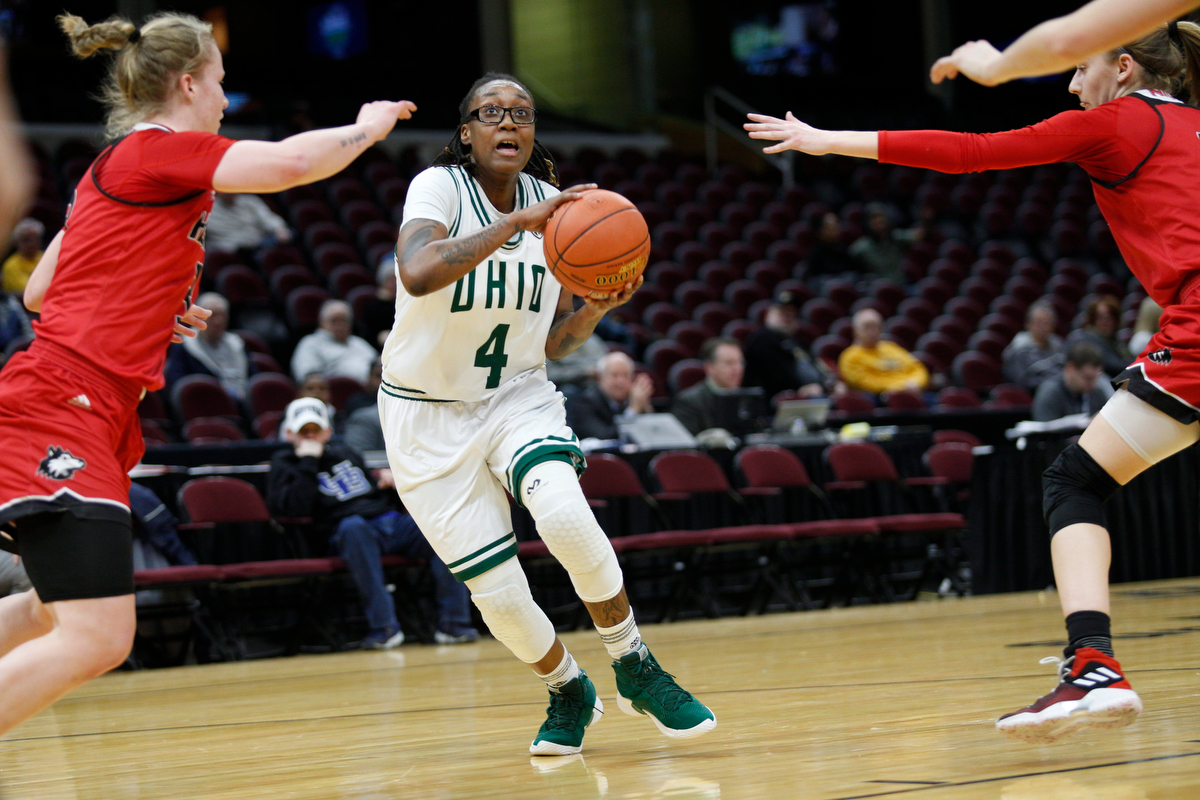 No. 2 Ohio Women's Basketball Advances to MAC Semis with Victory over No. 7 NIU