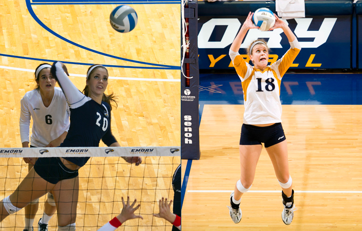 No. 2 Emory Volleyball Opens 2014 Season at Berry Invitational
