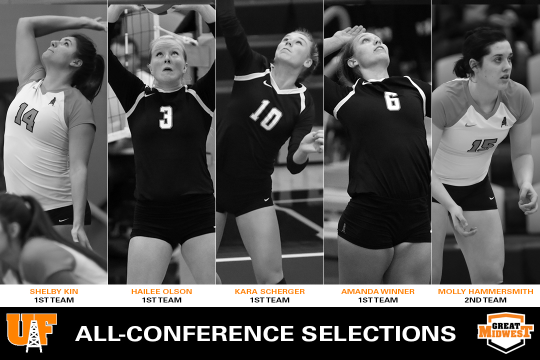 5 Oilers Earn All-Conference Honors
