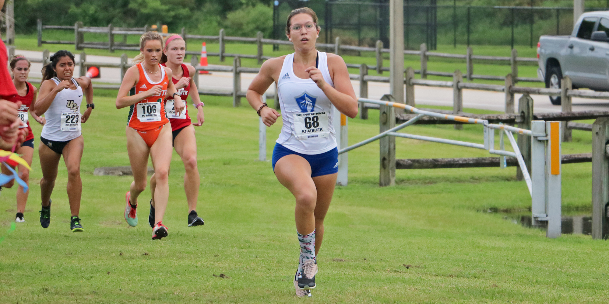 Women's Cross Country Opens 2018 at FAU Invite