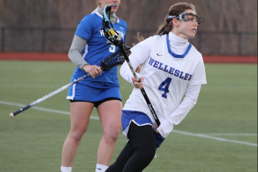 Jenna Mulrenan had three ground balls and two caused turnovers against Springfield. (Miranda Yang)