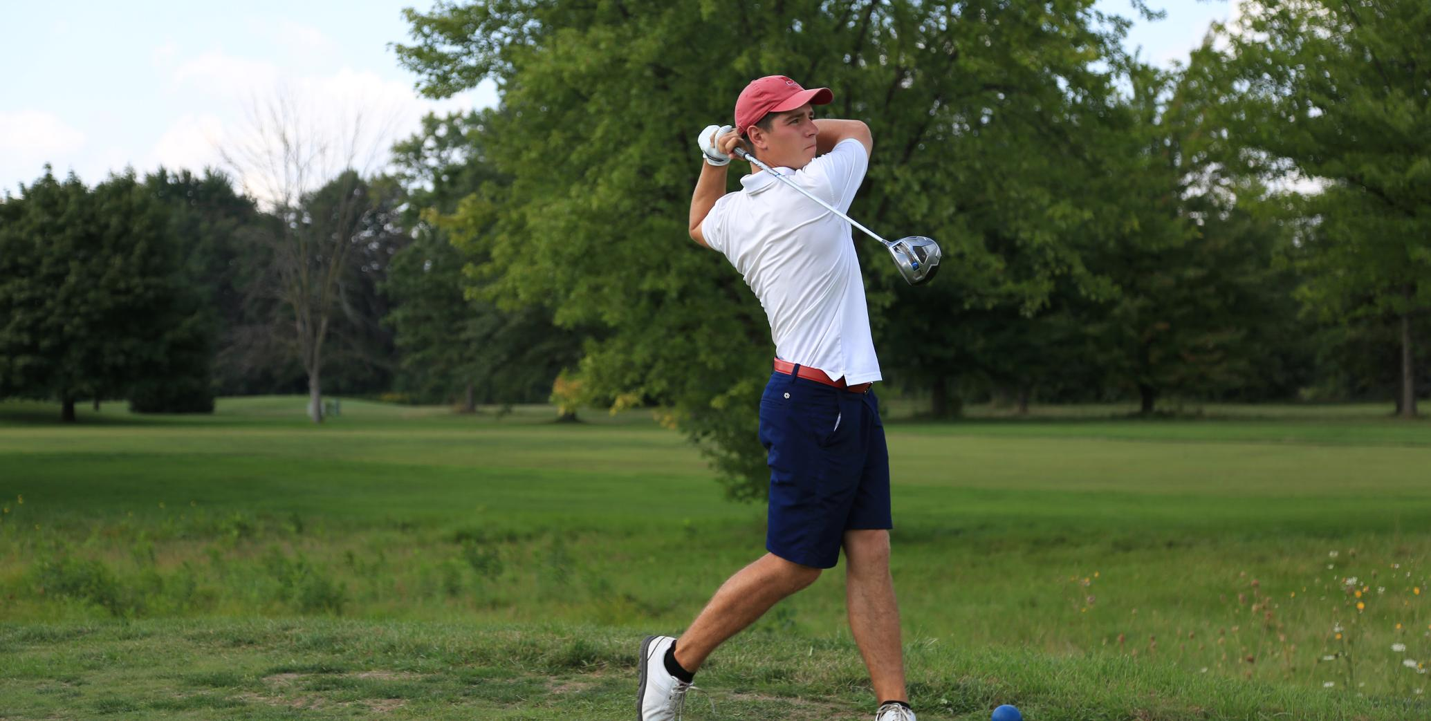 Ryan Peruski fired an opening round score of 70 (-2) at the Big Blue Course in Lexington...