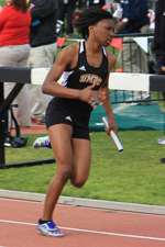 Mercedes Jackson finished 44th in the 100m dash