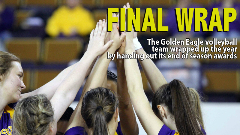 Golden Eagle volleyball hands out post-season team awards