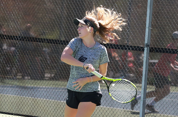 Women's Tennis: Panthers complete perfect weekend with win at Maryville