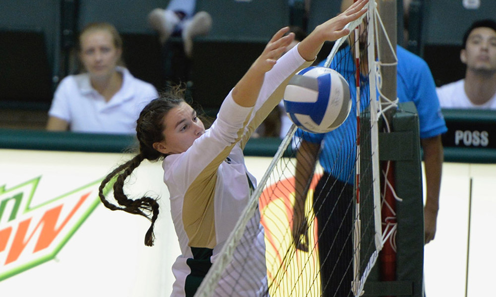 VOLLEYBALL COMES UP JUST SHORT IN 3-1 HOME LOSS TO UC DAVIS