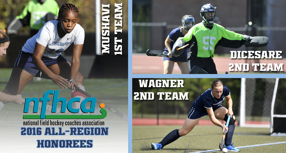 Three From Field Hockey Named To All-Region Teams