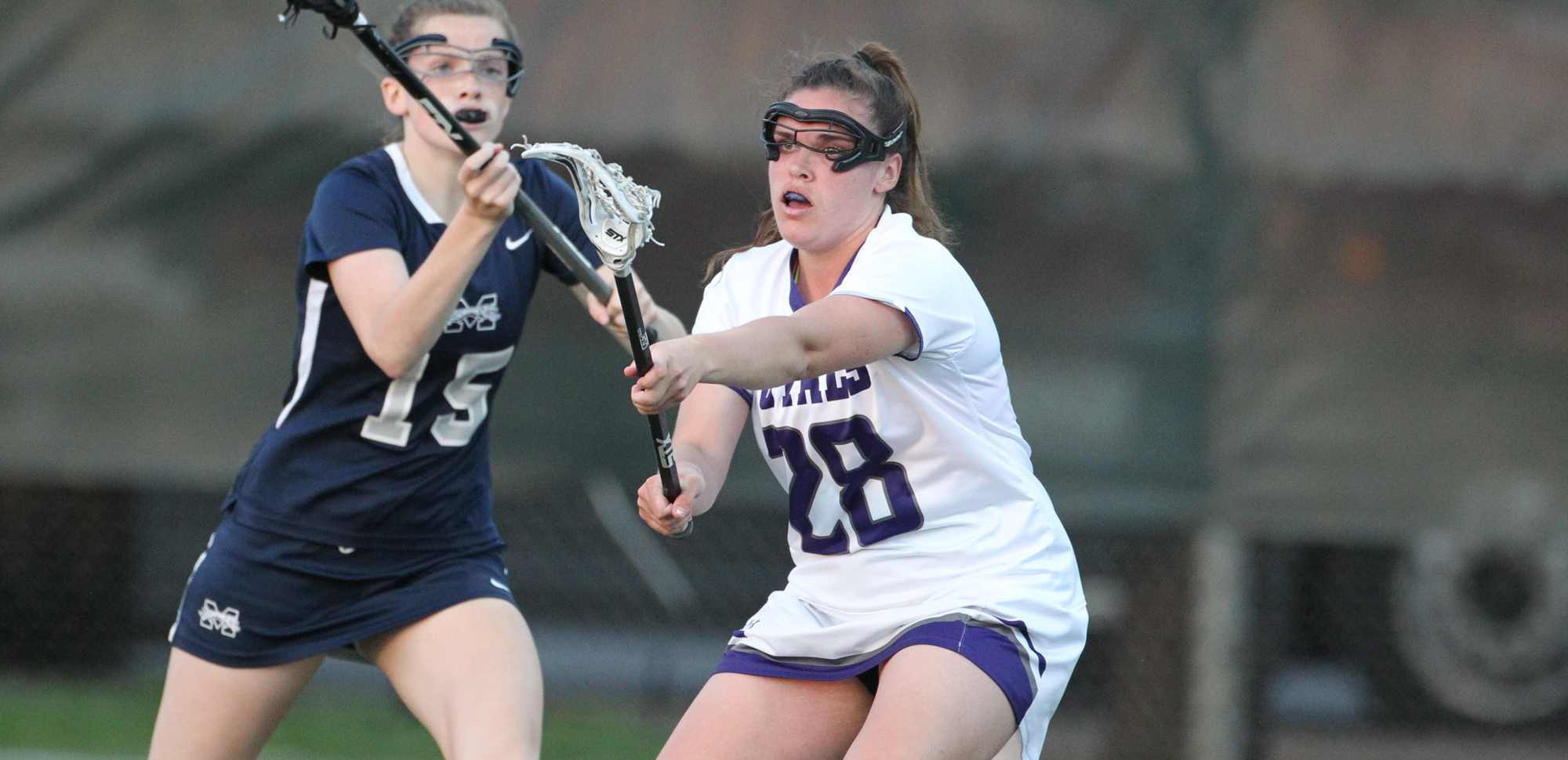 Morgan Windisch scored three goals for Scranton in Saturday's Landmark championship game at Catholic.
