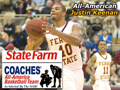FSU's Justin Keenan Is An All-American!