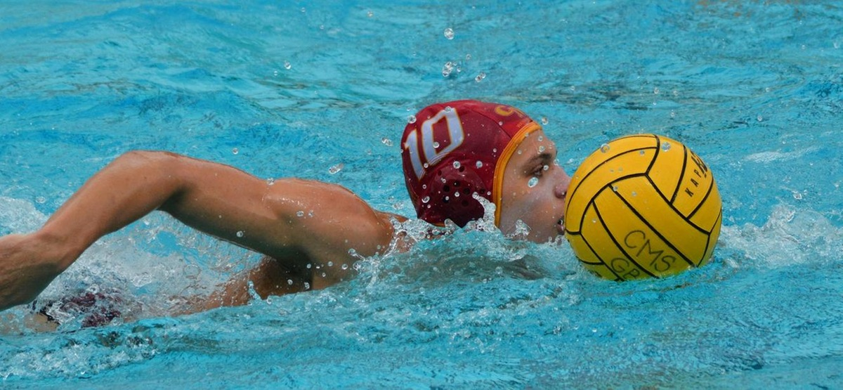 CMS Men's Water Polo Falls to No. 10 Harvard 12-8 on First Day of Crimson's Invitational