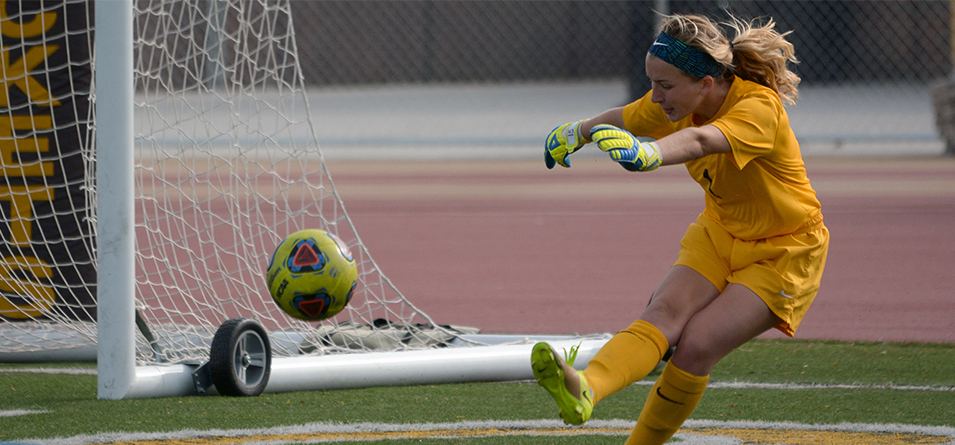 Emma Bruno recorded her fifth shutout of the season