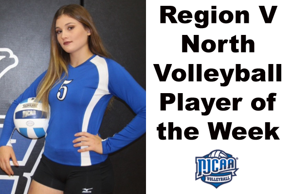 Region V North Volleyball Player of the Week (Sept. 17-23)