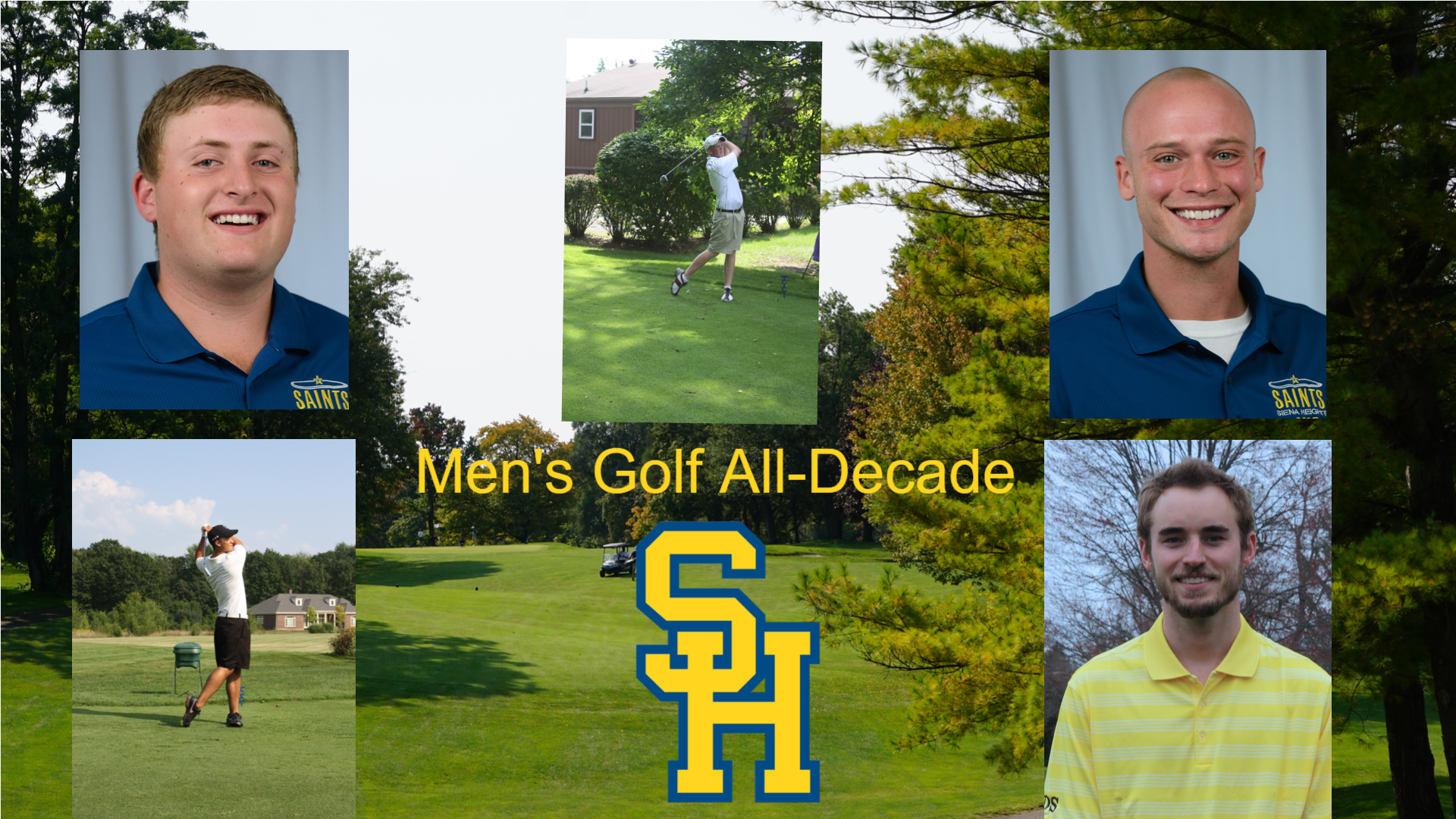 The Siena Heights All-Decade Series: Men's Golf