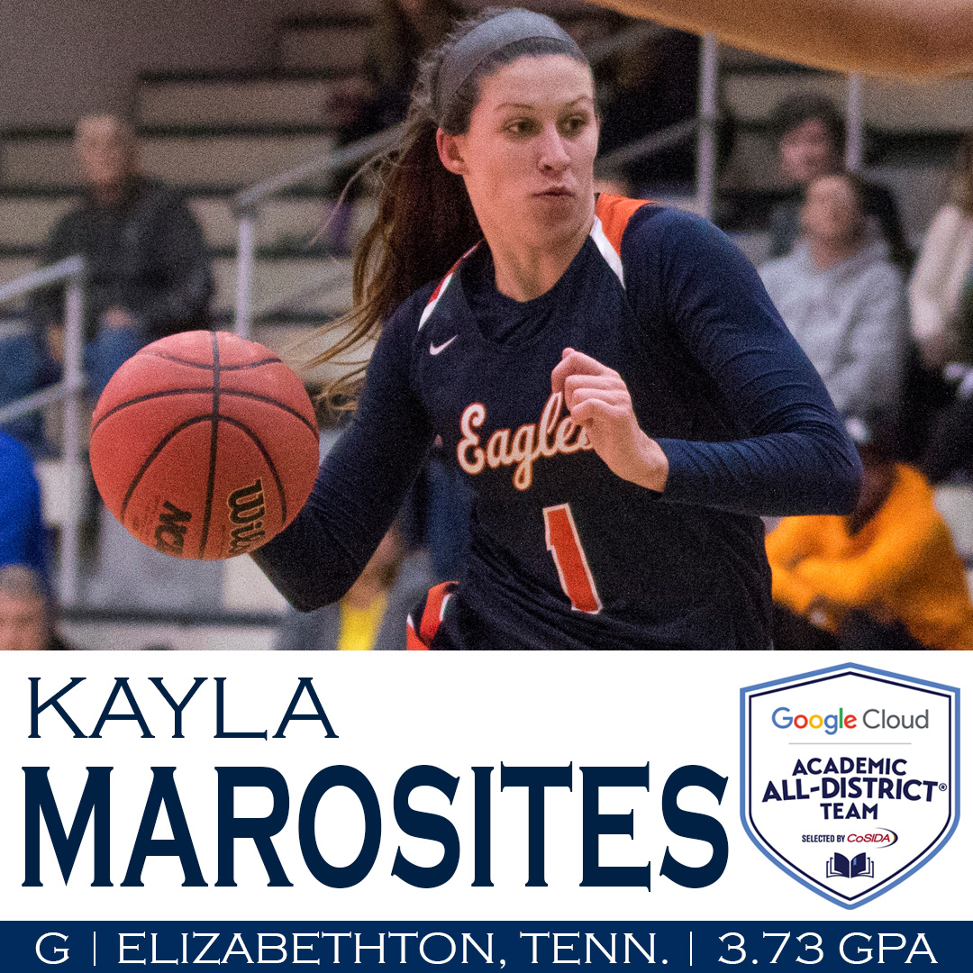Marosites tabbed CoSIDA Academic All-District