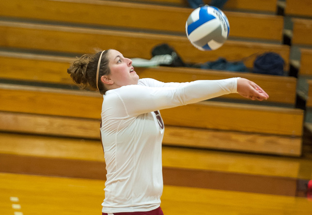 Volleyball: Norwich downs Southern Vermont 3-0